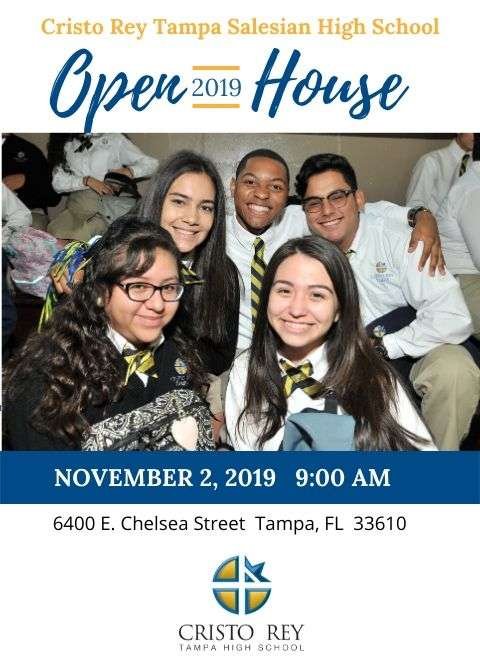 2019 Open House – Your child's future begins at Cristo Rey Tampa Salesian High School