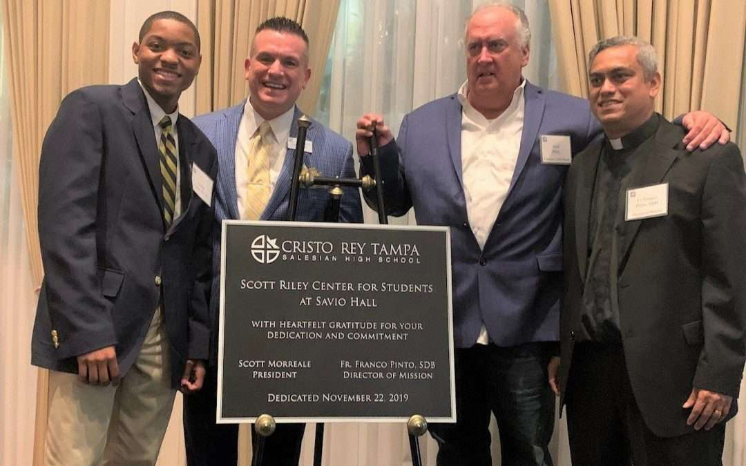The Scott Riley Center for Students at Savio Hall Named