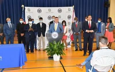 Governor Ron DeSantis Signs HB7067 at Cristo Rey Tampa