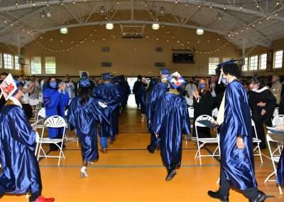 Cristo Rey Tampa Class of 2021-Commencment exit