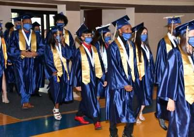 Cristo Rey Tampa Class of 2021-Commencment entrance