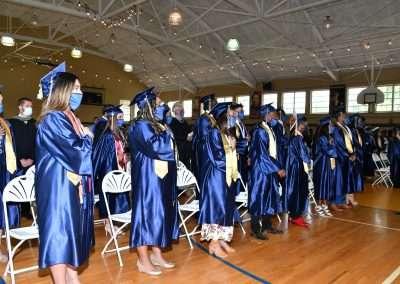 Cristo Rey Tampa Class of 2021 - Pledge of Allegiance