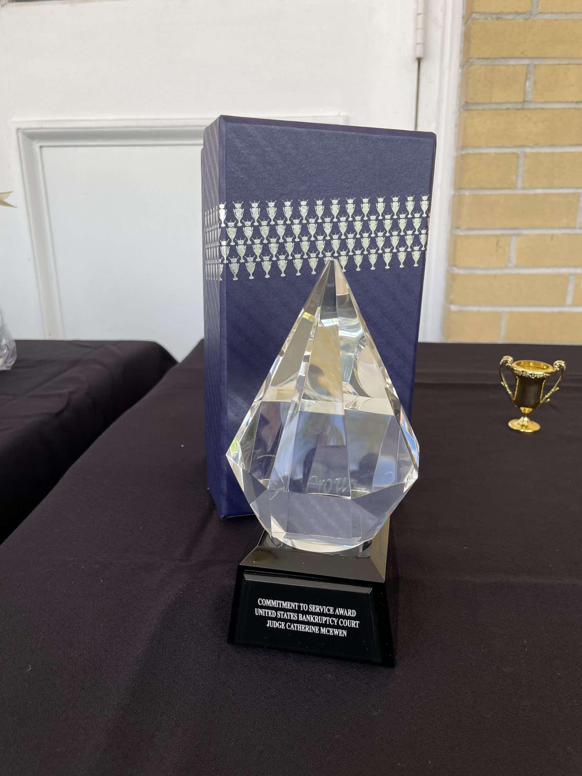 CWSP Partner Appreciation Event - Award