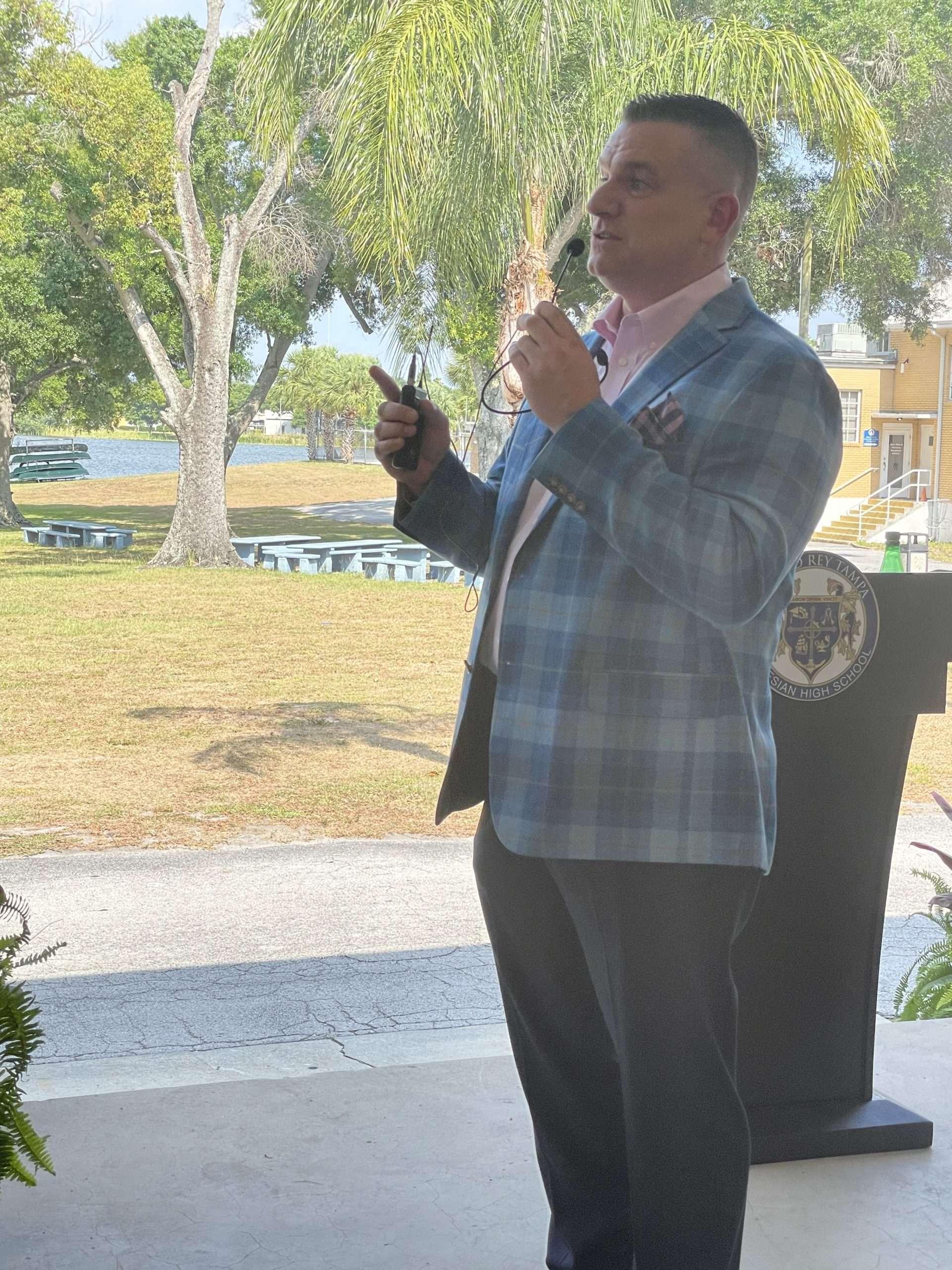 CWSP Partner Appreciation Event- President Morreale addresses guests