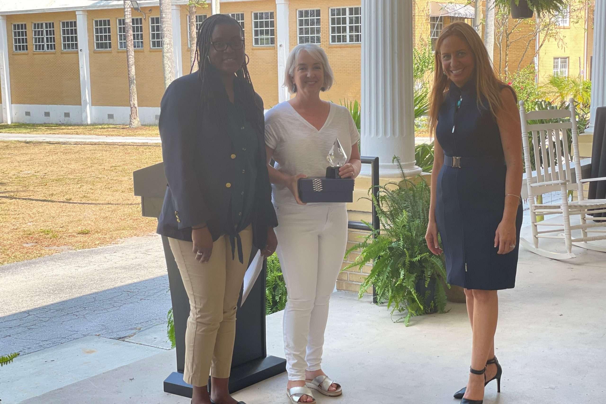 CWSP Supervisor of the Year, Deborah Scott
