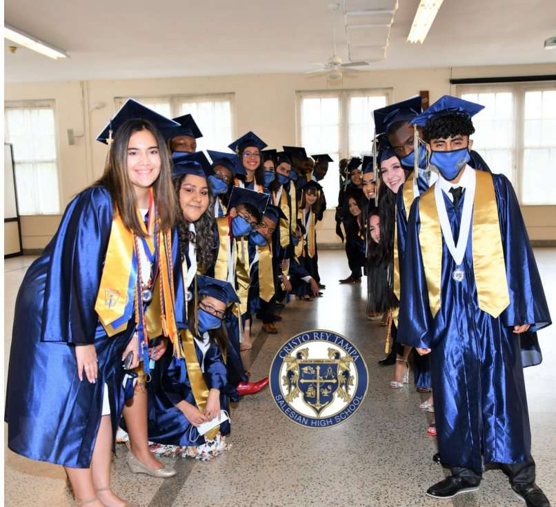 Graduation- Cristo Rey Tampa Class of 2021