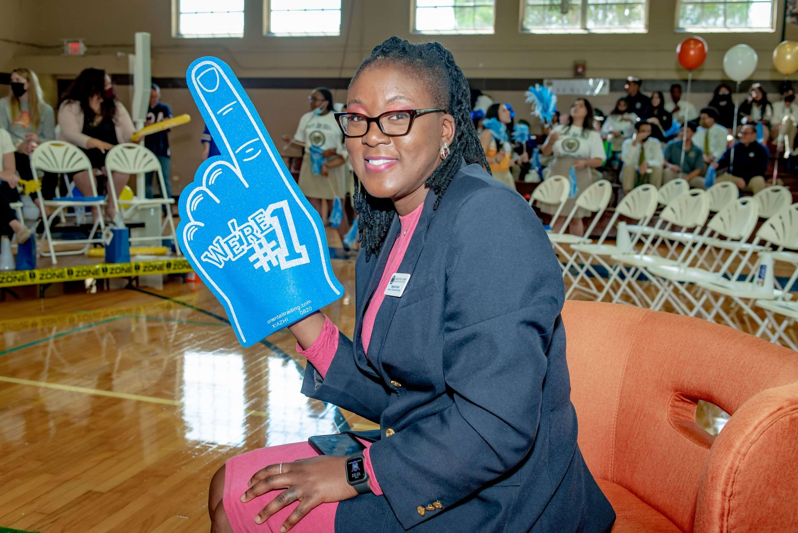 Draft Day 2021 - Ms. Dixon, Director of CWSP